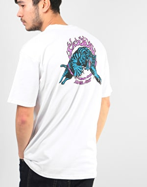 Santa Cruz Salba Tiger T-Shirt - White