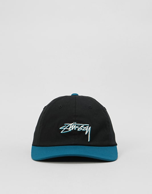 Stüssy Fitted Low Cap - Black