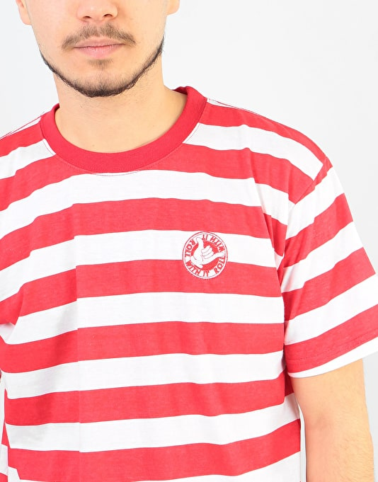 Handy Roll With It T-Shirt - Red/White