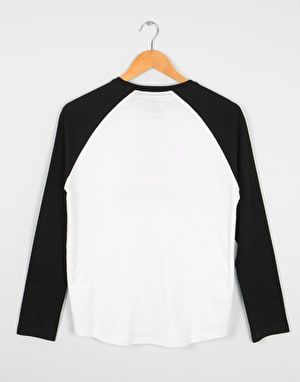 Element Vertical Raglan Boys T-Shirt - Optic White