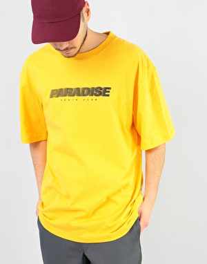 Paradise Youth Club Rush T-Shirt - Yellow