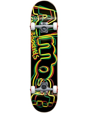 Almost Neon Complete Skateboard - 8
