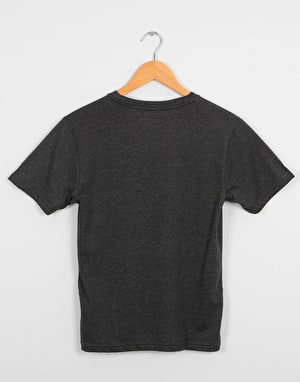 Volcom Collide Boys T-Shirt - Heather Black