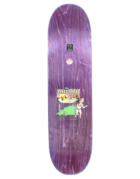 Polar Boserio Welcome To Perth Skateboard Deck - 8.625""