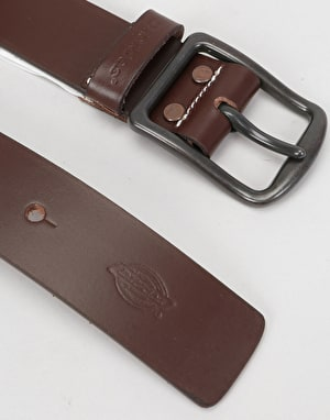 Dickies Helmsburg Leather Belt - Brown