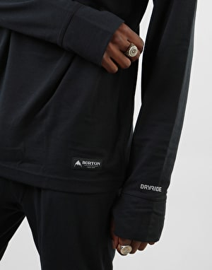 Burton Midweight Crew Thermal Top - True Black