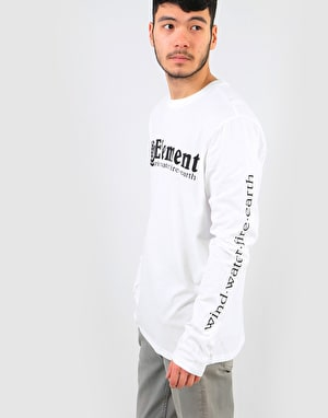 Element Horizontal L/S T-Shirt - Optic White