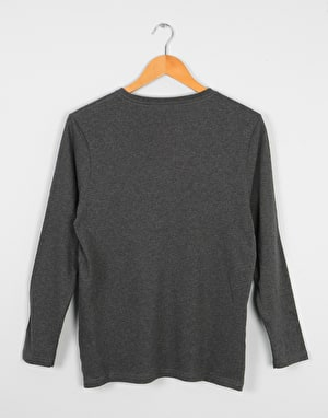 Element Blazin LS Boys T-Shirt - Charcoal
