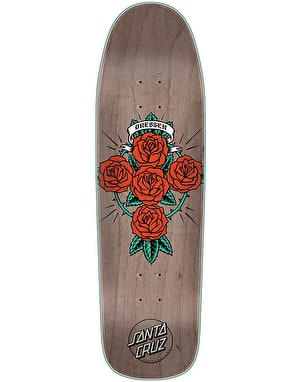 Santa Cruz Dressen Rose Cross Preissue Skateboard Deck - 9.31