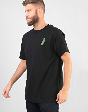 Primitive x Rick & Morty Pickle Rick T-Shirt - Black