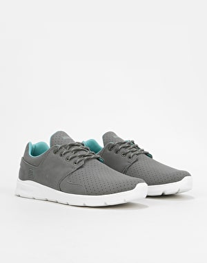 Etnies Scout XT Skate Shoes - Dark Grey/White