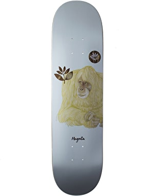 Magenta Monkey Skateboard Deck - 8.125