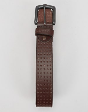 Dickies Yorktown Leather Belt - Brown