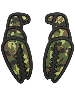 Crab Grab Mega Claw Snowboard Traction - Camo