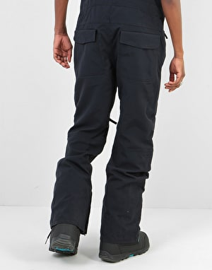ThirtyTwo Basement Bib 2019 Snowboard Pants - Black