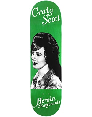 Heroin Questions Country Girl Skateboard Deck - 8.75