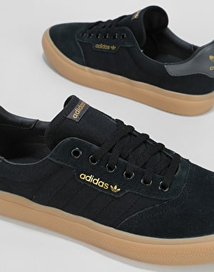 Adidas 3MC Skate Shoes - Core Black/Solid Grey/Gum