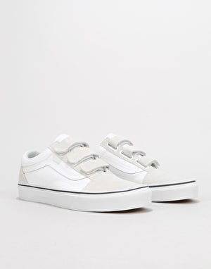 Vans Old Skool V Skate Shoes - True White