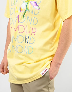 Diamond L'Amour Diamond T-Shirt - Banana