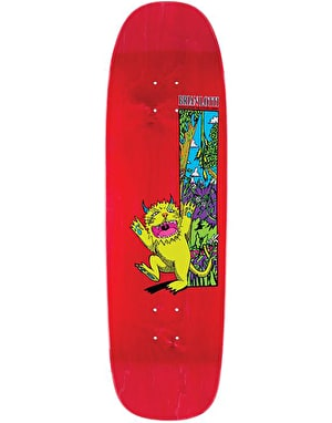 Welcome Lotti Wild Thing on Golem Skateboard Deck - 9.25