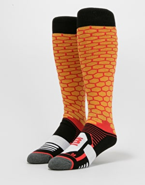 ThirtyTwo Elite ASI Snowboard Socks - Orange