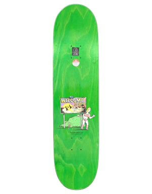 Polar Boserio Welcome To Perth Skateboard Deck - 8.25