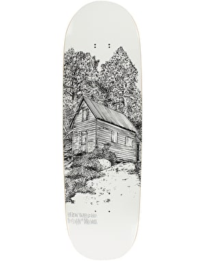 Heroin Deer Man of Dark Woods Cabin Series II Skateboard Deck - 9.25
