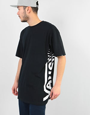Vans Distorted T-Shirt - Black