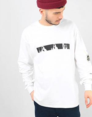 The National Skateboard Co. The Shining L/S T-Shirt - White