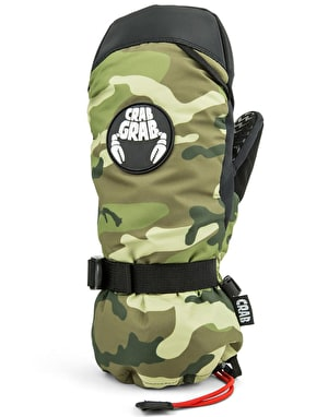 Crab Grab Cinch 2019 Snowboard Mitts - Camo