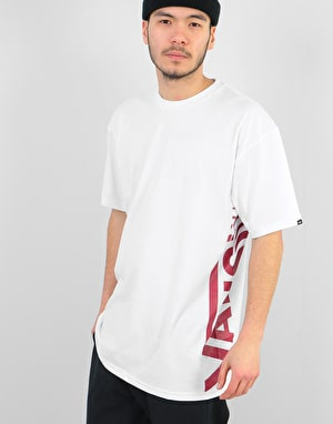 Vans Distorted T-Shirt - White