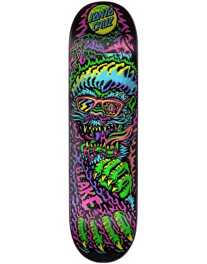 Santa Cruz Johnson Beach Wolf Skateboard Deck - 8.375