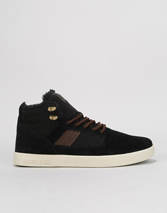 a9d3bb4c2c9f Supra Bandit Skate Shoes - Black Bone