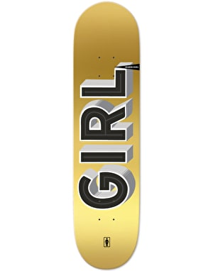 Girl Biebel Sign Painter Skateboard Deck - 8