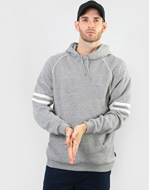 Brixton Wicker Pullover Hoodie - Heather Grey