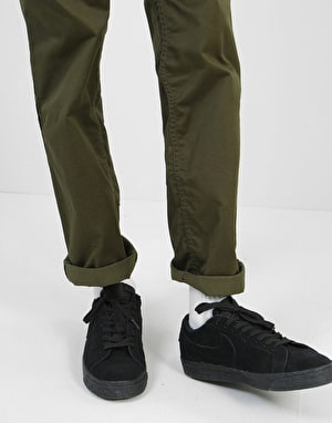 DC Worker Relaxed Denim Jeans - Dark Olive