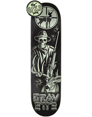 Creature Gravette Tales of Black Skateboard Deck - 8.3