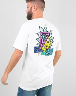 Primitive x Rick & Morty Rick Destructed T-Shirt - White