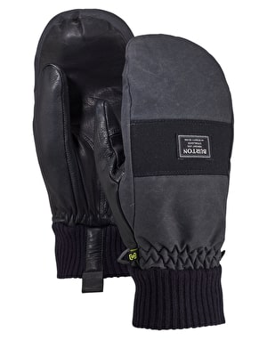 Burton Dam 2019 Snowboard Mitts - True Black Wax