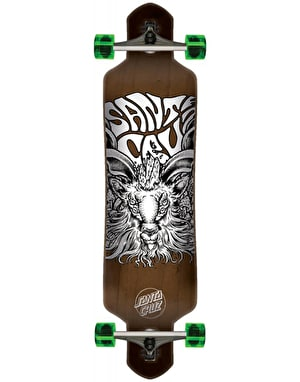 Santa Cruz Summoner Drop Through Longboard - 41
