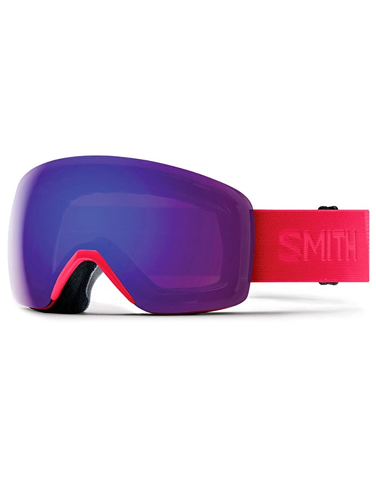 Smith Skyline 2019 Snowboard Goggles - B4BC/Everyday Violet Mirror