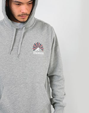 Element Rising Pullover Hoodie - Grey Heather