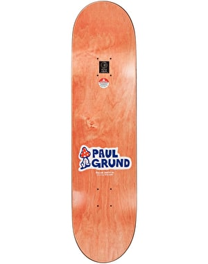 Polar Grund Meltdown Skateboard Deck - 8.38