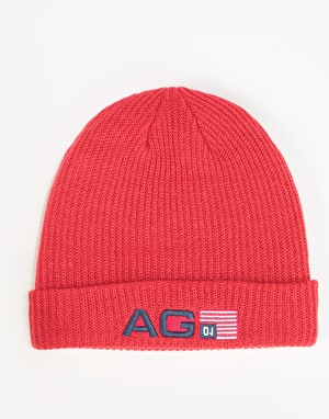 Analog Cuff Beanie - Process Red