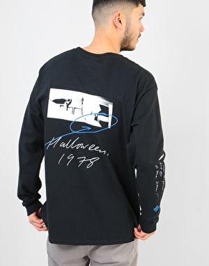 The National Skateboard Co. Halloween L/S T-Shirt - Black