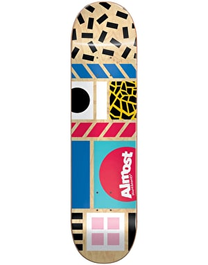 Almost New Wave Skateboard Deck - 8.25