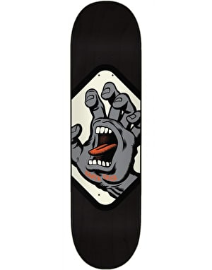 Santa Cruz Hand Badge Skateboard Deck - 8