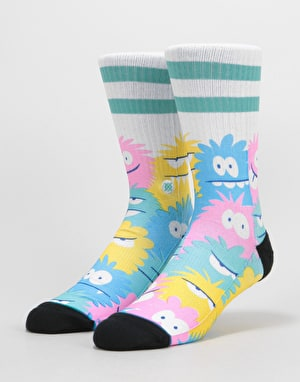 Stance x Kevin Lyons Monster Classic Crew Socks - Mint