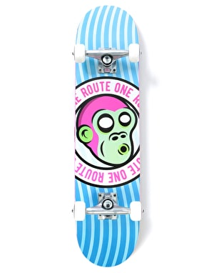 Route One Monkey Business Complete Skateboard - 7.5