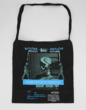 Paradise Youth Club Robot Slaves Tote Bag - Black